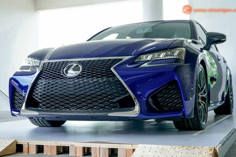 Xe sang tien ty Lexus GS F 2016 chinh hang ve VN - Anh 4