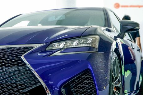 Xe sang tien ty Lexus GS F 2016 chinh hang ve VN - Anh 5