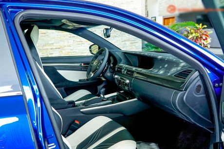 Xe sang tien ty Lexus GS F 2016 chinh hang ve VN - Anh 6