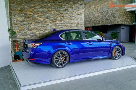Xe sang tien ty Lexus GS F 2016 chinh hang ve VN - Anh 8