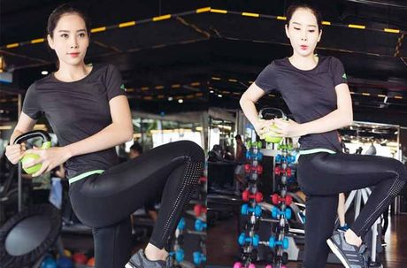 Hoa khoi Nam Em khoe body hoan hao tai Philippines - Anh 8