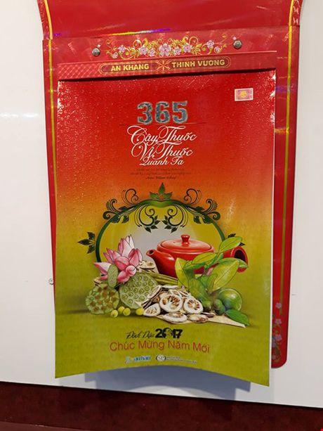Bo lich 365 vi thuoc gianh giai Nhat mau lich Xuan Dinh Dau - Anh 1
