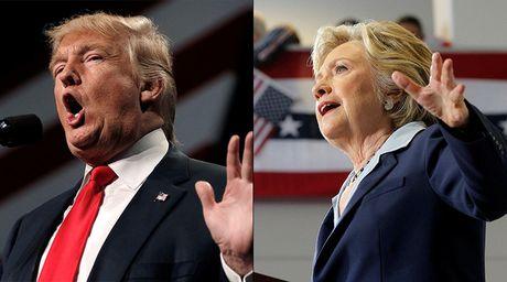 """Clinton va Trump buoc vao cuoc """"dau khau"""" thu 2 - Anh 1"""