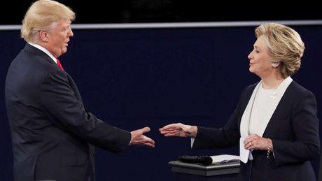 Tranh luan vong 2: Clinton - Trump kho biet thang thua - Anh 1