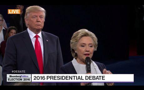 Tranh luan vong 2: Clinton - Trump kho biet thang thua - Anh 3