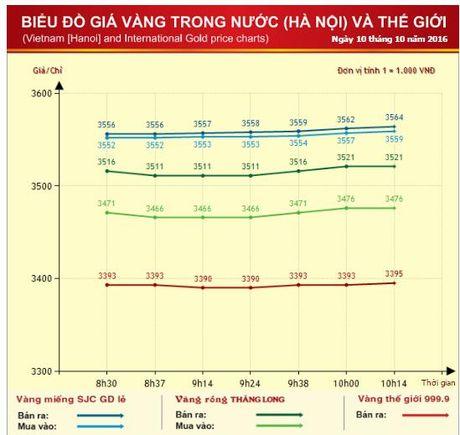 Gia vang trong nuoc khoi sac phien dau tuan - Anh 2