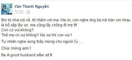 Phan ung bat ngo cua Van Hugo khi biet tin chong cu sap lay vo - Anh 1