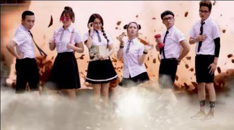 Hoa Minzy, Nha Phuong sieu kute trong trao luu troll anh - Anh 3
