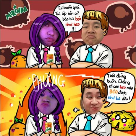 Hoa Minzy, Nha Phuong sieu kute trong trao luu troll anh - Anh 5