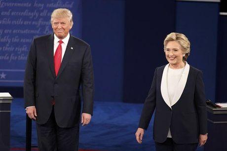 Trump vs Clinton: Dien bien 'nay lua' trong buoi tranh luan thu hai - Anh 3
