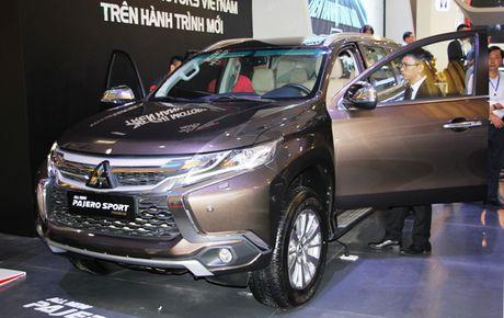 Mitsubishi dua mau SUV Pajero Sport Premium quyet chinh phuc thi truong Viet Nam - Anh 1