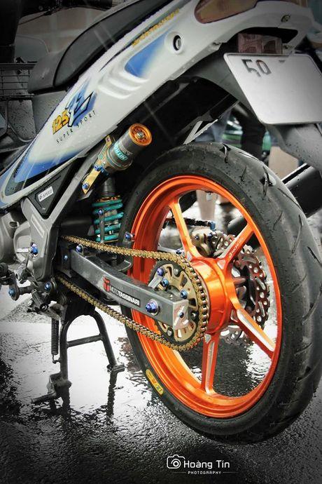 Yamaha Z 125 do khung hon 200 trieu - Anh 4