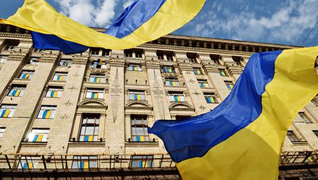 Ukraine xem xet kha nang rut khoi SNG - Anh 1