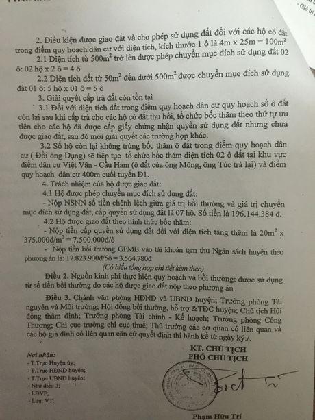 Bac Quang (Ha Giang): Dan khieu kien vi dat co so do nhung khong duoc su dung - Anh 4