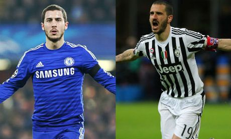 Chelsea choi lon: Doi Hazard lay sieu hau ve Italia - Anh 2
