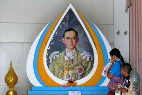 Vua Thai Lan suc khoe 'khong on dinh' sau khi chay than - Anh 1