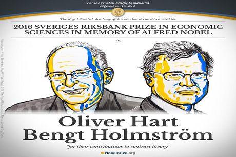 Tim ra chu nhan giai Nobel Kinh te 2016 - Anh 1