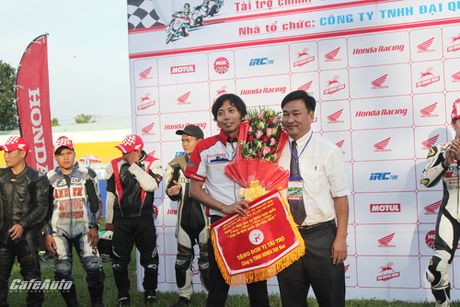 Giai dua xe mo to cup quoc gia vong 11 nam 2016: Kich tinh den phut cuoi cung - Anh 1