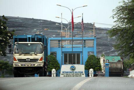 TP. HCM bac de nghi tra 2.000 tan rac/ngay cua Da Phuoc - Anh 1