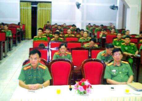 Cong an tinh Cao Bang: Tap huan nghiep vu cong tac thanh tra - Anh 1