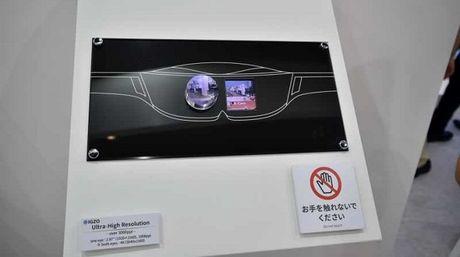 Sharp trinh dien man hinh 1008ppi danh cho kinh VR - Anh 1