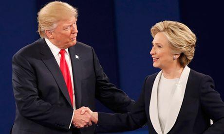 Nhung diem chinh trong cuoc tranh luan Trump - Clinton lan hai - Anh 1