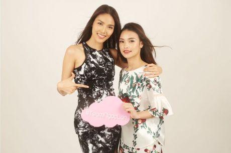 HLV Lan Khue tan tam chi dan cho top 3 - miss NSTT 360mobi trong buoi chup anh - Anh 10