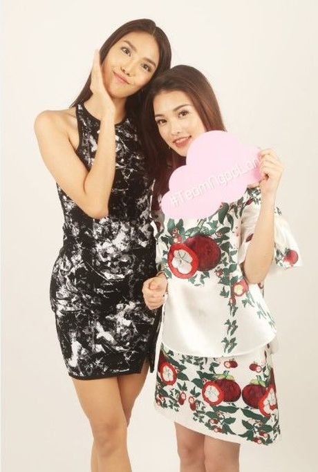 HLV Lan Khue tan tam chi dan cho top 3 - miss NSTT 360mobi trong buoi chup anh - Anh 9