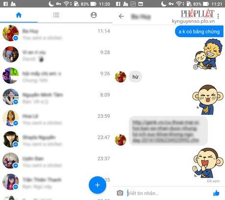 Cach nhan tin Facebook nhanh hon khi xai smartphone cu - Anh 2