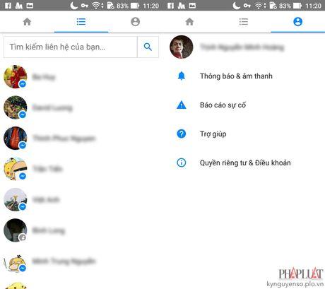Cach nhan tin Facebook nhanh hon khi xai smartphone cu - Anh 3