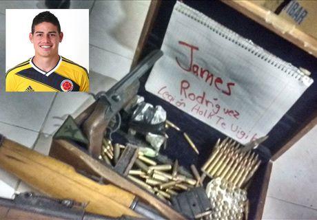 James Rodriguez bi doa giet boi 'fan cuong' tren Twitter - Anh 1