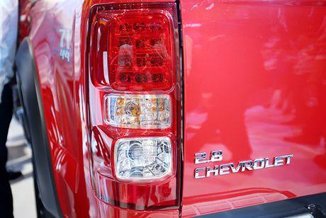 Chevrolet Colorado 2017: Mau ban tai manh me va tien nghi - Anh 10