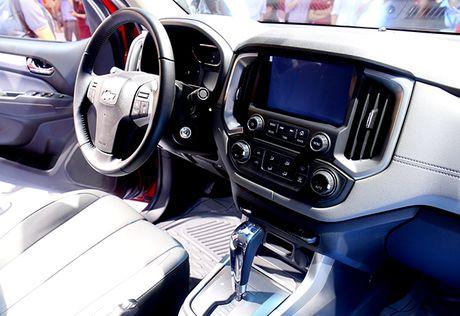 Chevrolet Colorado 2017: Mau ban tai manh me va tien nghi - Anh 5