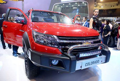 Chevrolet Colorado 2017: Mau ban tai manh me va tien nghi - Anh 7