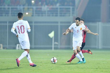 Costa giup Tay Ban Nha dan dau vong loai World Cup 2018 - Anh 5