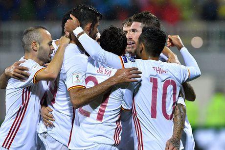 Costa giup Tay Ban Nha dan dau vong loai World Cup 2018 - Anh 8