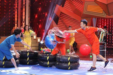 Truong Giang bat khoc trong game show - Anh 6