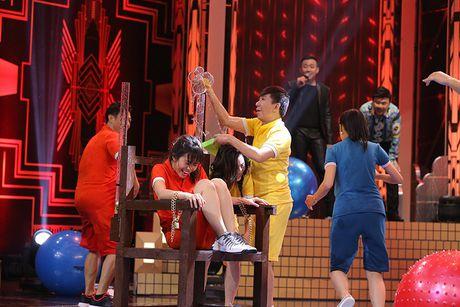 Truong Giang bat khoc trong game show - Anh 7