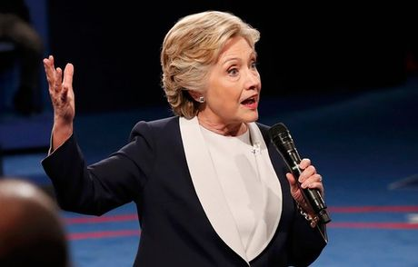 'Cuoc chien' ngon ngu co the giua Trump va Clinton trong cuoc tranh luan thu 2 - Anh 3
