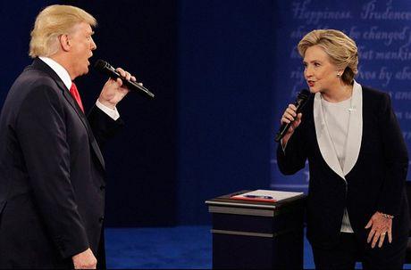 Ket qua tham do ban dau: Clinton thang ap dao trong cuoc doi dau thu 2 - Anh 1