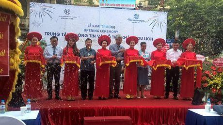 Ha Noi khai truong Trung tam Thong tin va Ho tro khach du lich - Anh 1