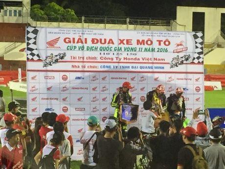Honda Viet Nam lan dau dua giai dua xe den Ba Ria - Anh 1