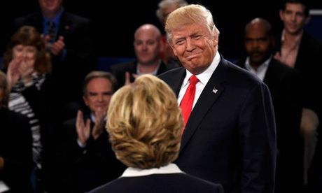 Bau cu My 2016: Trump lan luot Hillary trong cuoc tranh luan lan 2 - Anh 4
