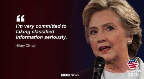 Nhung cau noi then chot trong cuoc 'so gang' Trump-Clinton lan 2 - Anh 1