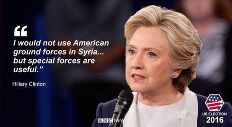 Nhung cau noi then chot trong cuoc 'so gang' Trump-Clinton lan 2 - Anh 6