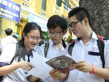 Thanh pho Ho Chi Minh se thi THPT quoc gia 2017 theo phuong an cua Bo - Anh 1