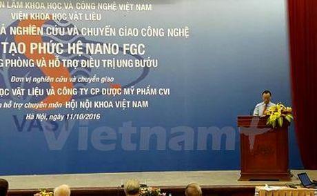 Viet Nam che tao thanh cong chat dan dieu tri ung thu - Anh 1