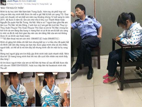 Bo Cong an xac minh thong tin be 12 tuoi nguoi Viet mang thai o TQ - Anh 1