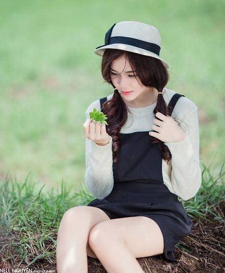 Hot girl xinh dep, da tai cua Hoc vien Hang khong VN - Anh 16