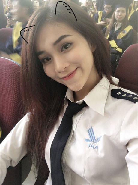 Hot girl xinh dep, da tai cua Hoc vien Hang khong VN - Anh 2